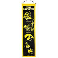 Iowa Hawkeyes Heritage Banner