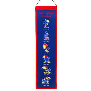 Kansas Jayhawks Heritage Banner