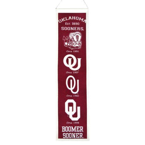Oklahoma Sooners Heritage Banner
