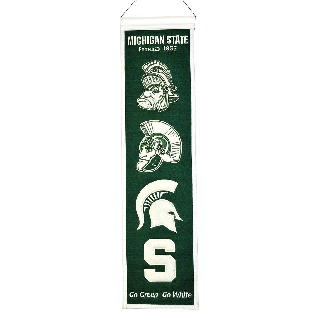 Michigan State Spartans Heritage Banner