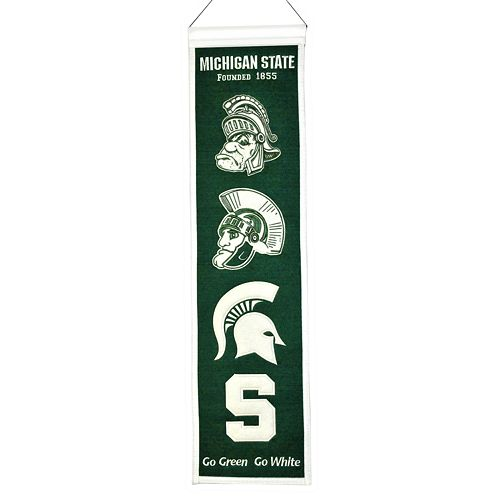 Michigan State Spartans Heritage Banner