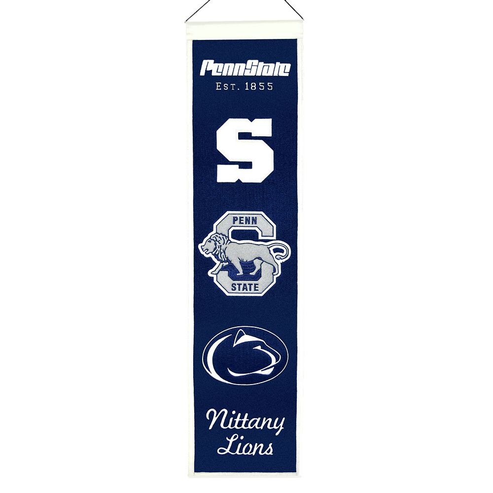 Penn State Nittany Lions Heritage Banner