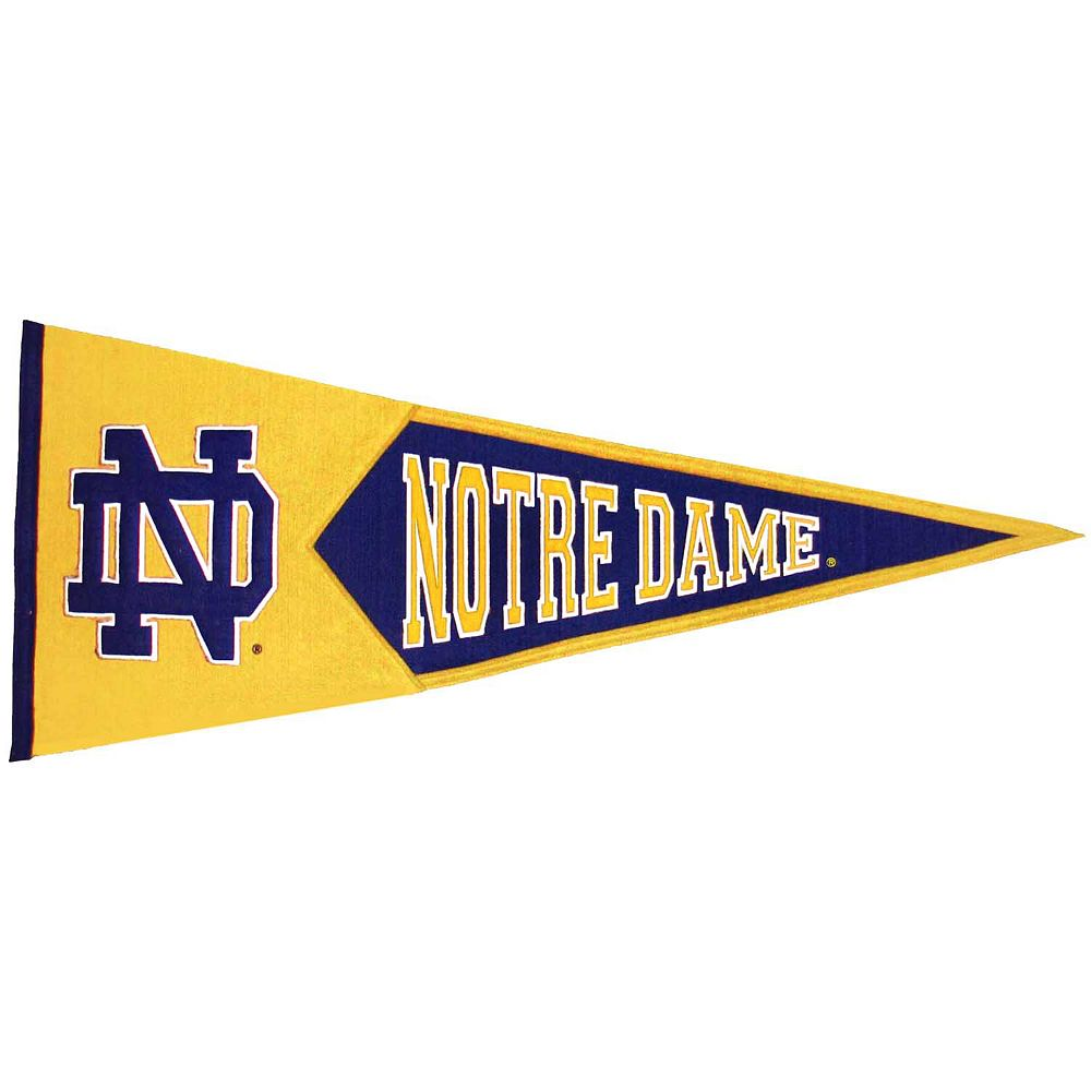 Notre Dame Fighting Irish Traditions Pennant