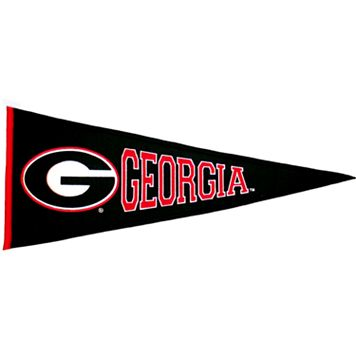 Georgia Bulldogs Traditions Pennant