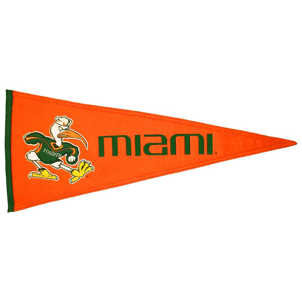 Miami Hurricanes Traditions Pennant