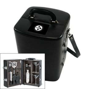 Picnic Time Pittsburgh Steelers Manhattan Cocktail Case
