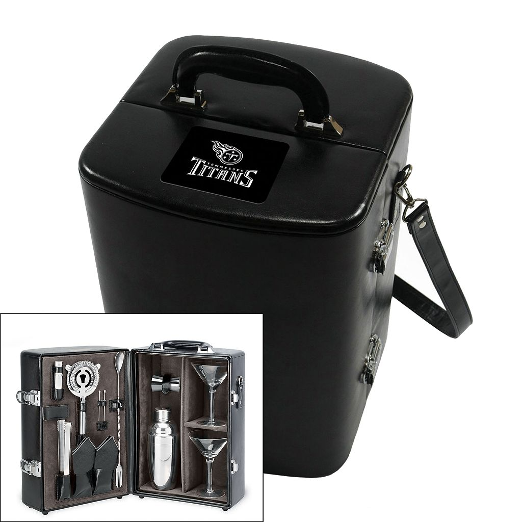 Picnic Time Tennessee Titans Manhattan Cocktail Case