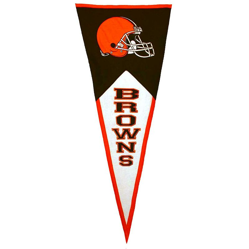 Cleveland Browns Classic Pennant (Brown/Orange/White)