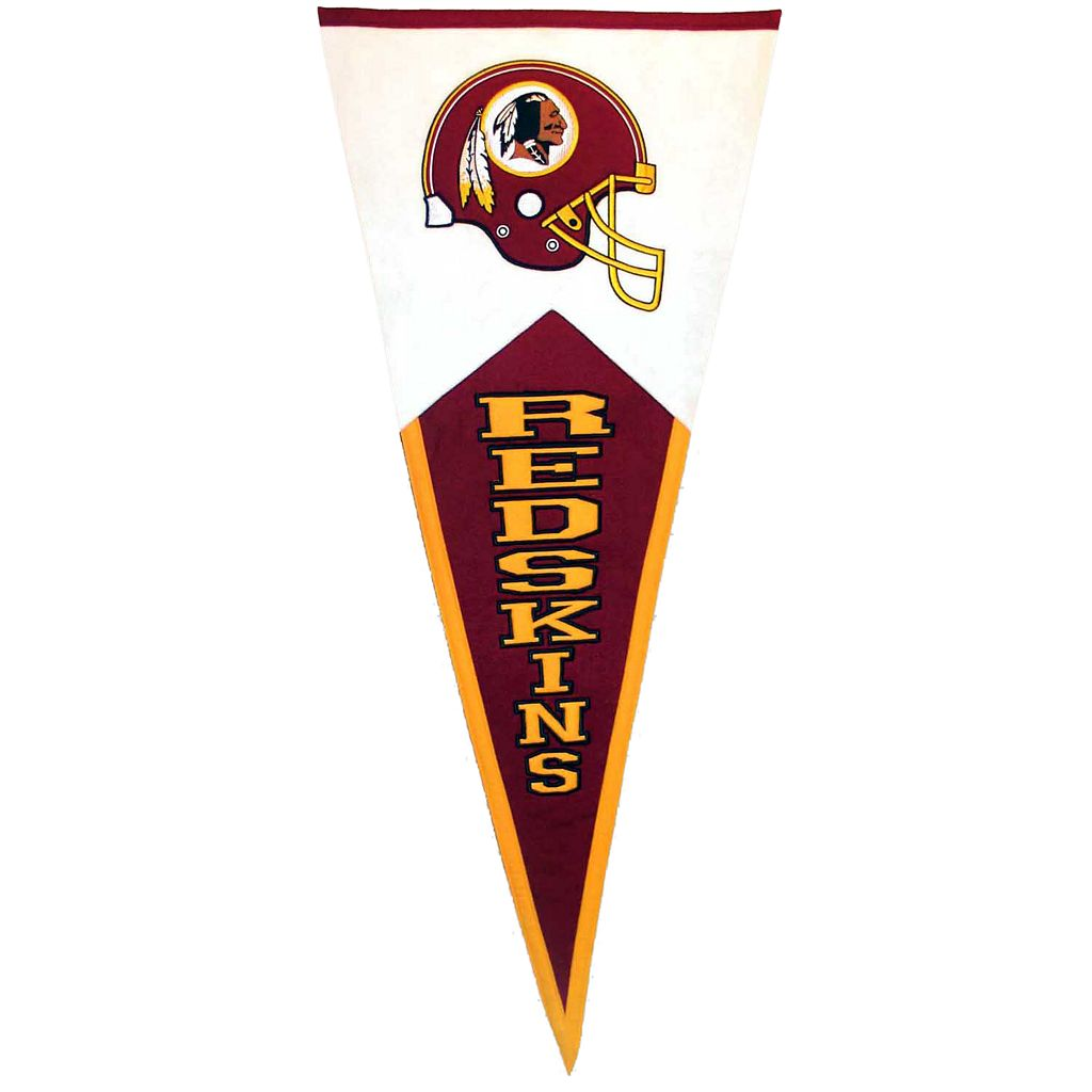 Washington Redskins Classic Pennant
