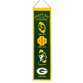 Green Bay Packers Heritage Banner