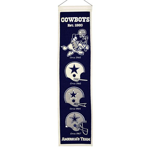 Dallas Cowboys Heritage Banner