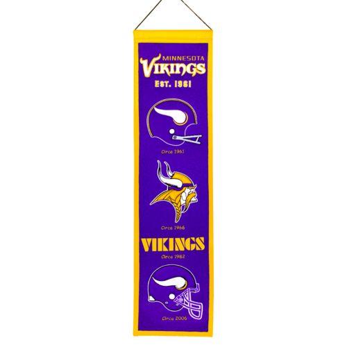 Minnesota Vikings Heritage Banner