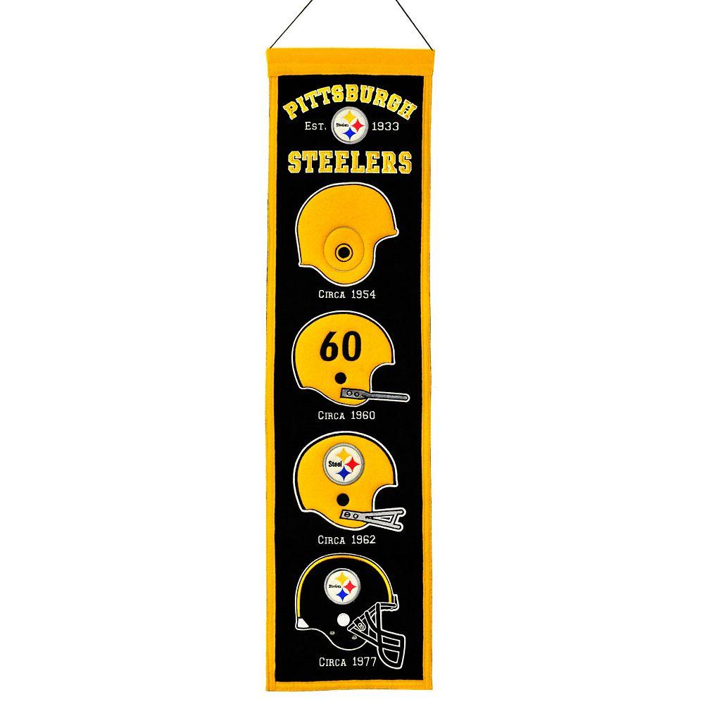 Pittsburgh Steelers Heritage Banner