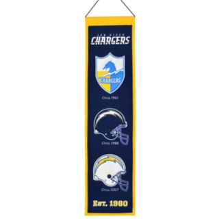 San Diego Chargers Heritage Banner