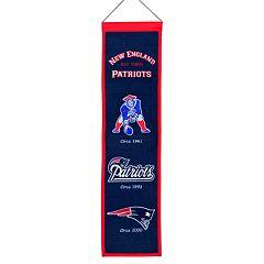 New England Patriots Heritage Banner