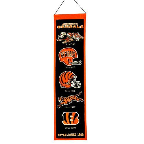Cincinnati Bengals Heritage Banner