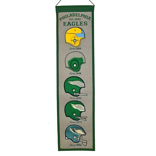 Philadelphia Eagles Heritage Banner