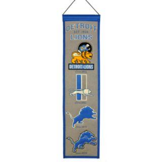 Detroit Lions Heritage Banner