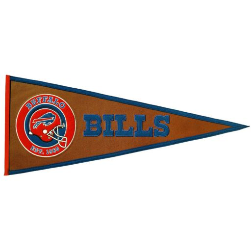 Buffalo Bills Pigskin Pennant