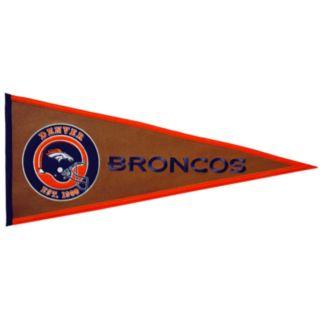 Denver Broncos Pigskin Pennant
