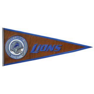 Detroit Lions Pigskin Pennant