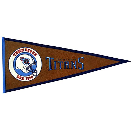 Tennessee Titans Pigskin Pennant