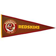 Washington Redskins Pigskin Pennant