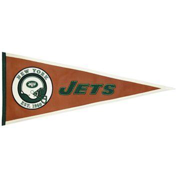 New York Jets Pigskin Pennant
