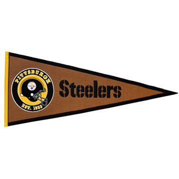 Pittsburgh Steelers Pigskin Pennant