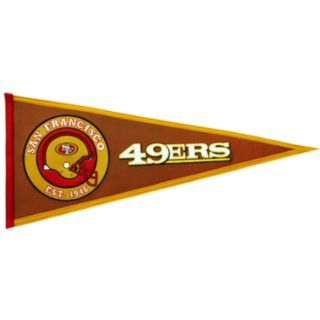 San Francisco 49ers Pigskin Pennant