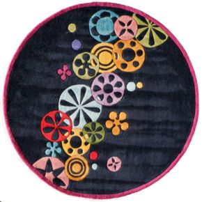 Momeni Lil Mo Hipster Floral Rug - 5 Round