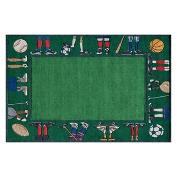 Momeni Lil Mo Whimsy Sports Rug - 3' x 5'
