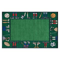 Momeni Lil Mo Whimsy Sports Rug - 8' x 10'