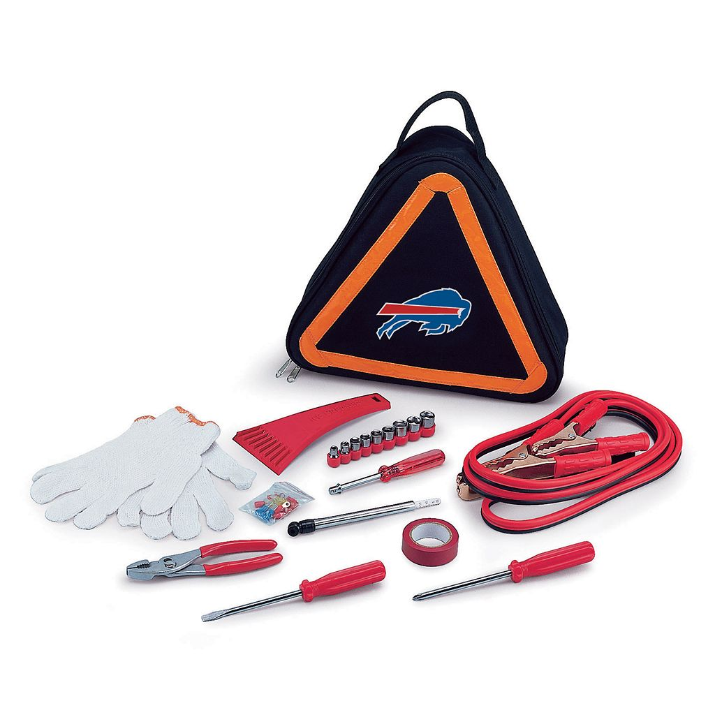 Picnic Time Buffalo Bills Roadside Emergency Kit