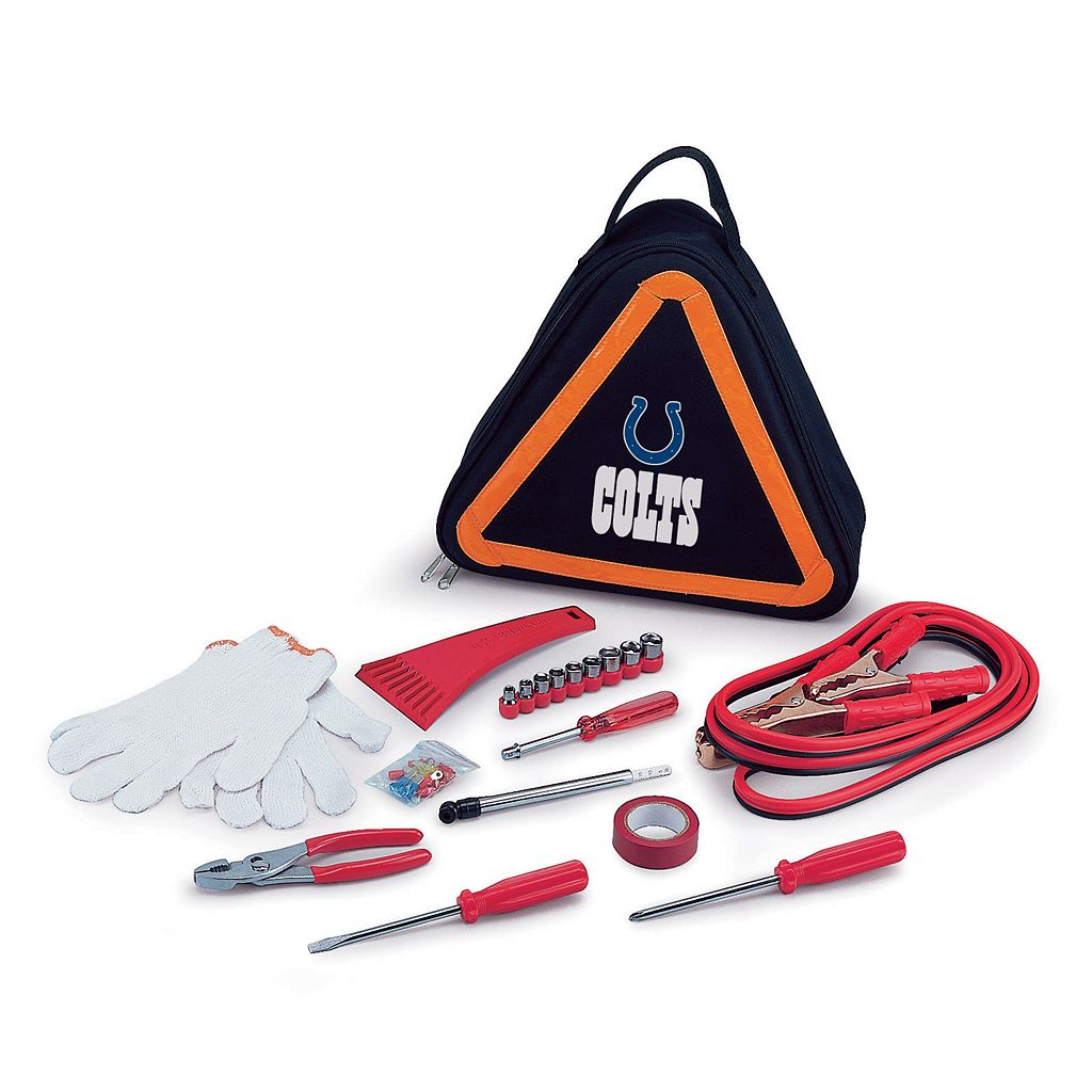 Picnic Time Indianapolis Colts Roadside Emergency Kit