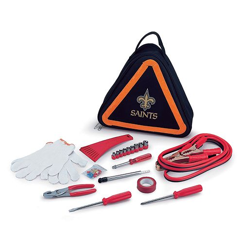 Picnic Time New Orleans Saints Roadside Emergency Kit