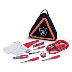 Picnic Time Oakland Raiders Roadside Emergency Kit