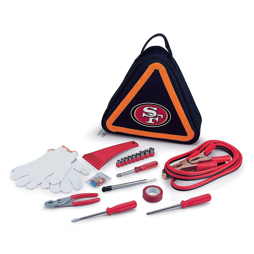 Picnic Time San Francisco 49ers Roadside Emergency Kit
