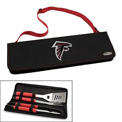 Picnic Time Atlanta Falcons Metro 4 pc Barbecue Tote Set