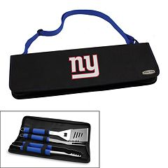 Picnic Time New York Giants Metro 4 pc Barbecue Tote Set