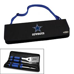 Picnic Time Dallas Cowboys Metro 4 pc Barbecue Tote Set