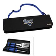 Picnic Time St. Louis Rams Metro 4-pc. Barbecue Tote Set