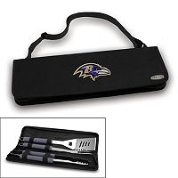 Picnic Time Baltimore Ravens Metro 4 pc Barbecue Tote Set