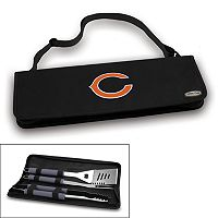 Picnic Time Chicago Bears Metro 4-pc. Barbecue Tote Set
