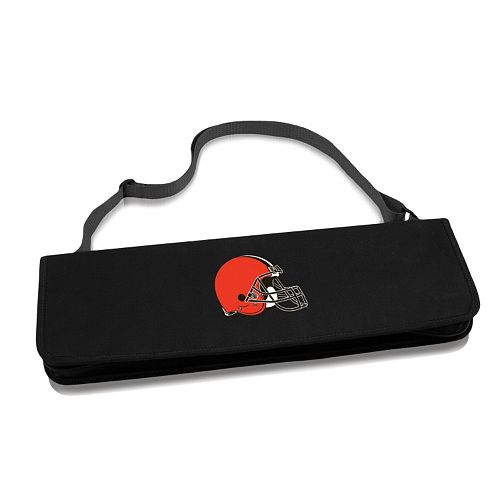 Picnic Time Cleveland Browns Metro 4-pc. Barbecue Tote Set