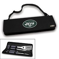 Picnic Time New York Jets Metro 4-pc. Barbecue Tote Set