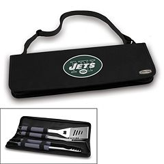 Picnic Time New York Jets Metro 4 pc Barbecue Tote Set