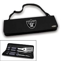 Picnic Time Oakland Raiders Metro 4-pc. Barbecue Tote Set