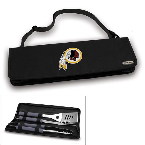 Picnic Time Washington Redskins Metro 4-pc. Barbecue Tote Set