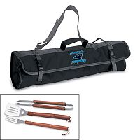 Picnic Time Carolina Panthers 4-pc. Barbecue Tote Set